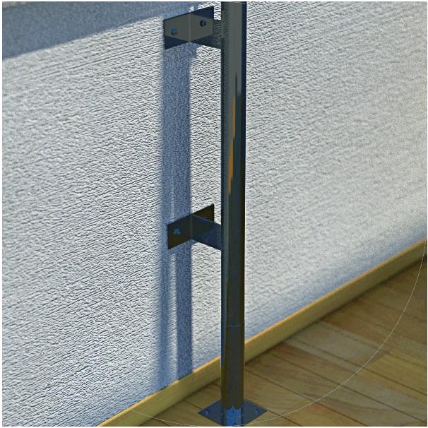 Wall mounting bracket option