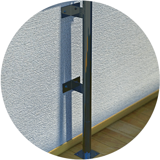 Wall mounting bracket option
